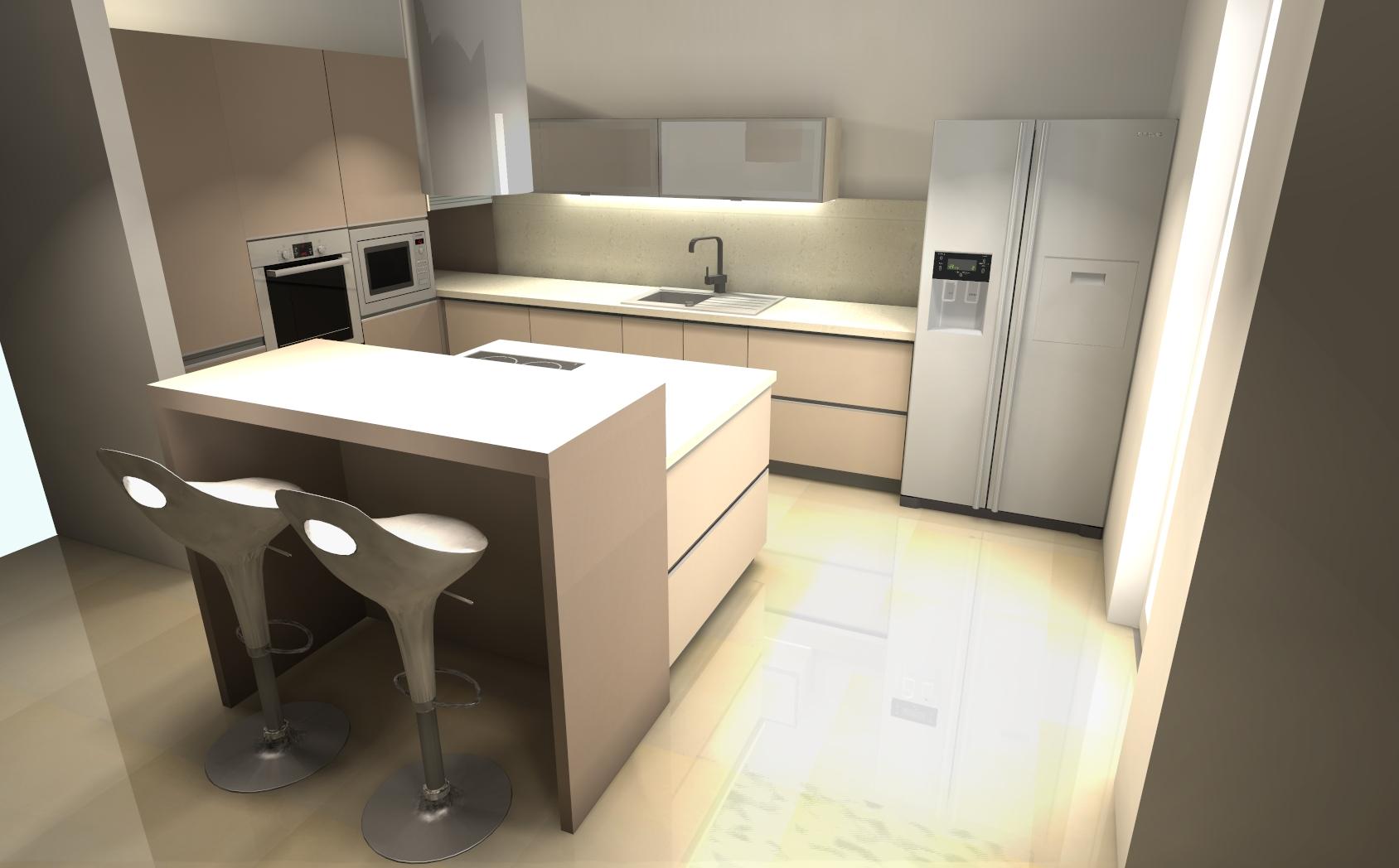 projektowanie kuchni mebli kuchennych wybrane projekty