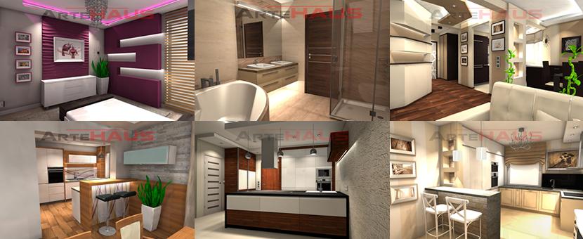 tanie projektowanie wn trz na odleg os online projektowanie warszawa katowice krak w. Black Bedroom Furniture Sets. Home Design Ideas